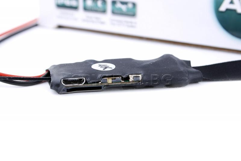 IP камера за вграждане с 4К резолюция