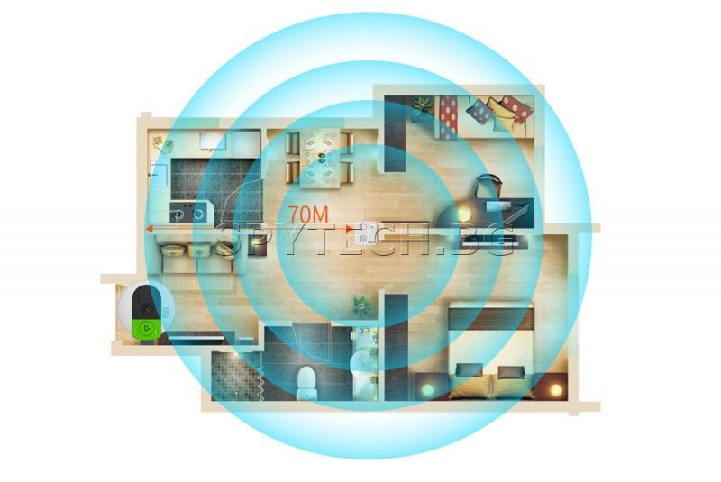 IP шпионка-звънец