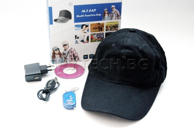 Камера, скрита в шапка - ST338