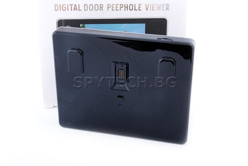 Шпионка с LCD дисплей