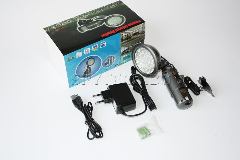 <p>Скрита камера с детектор за движение</p>